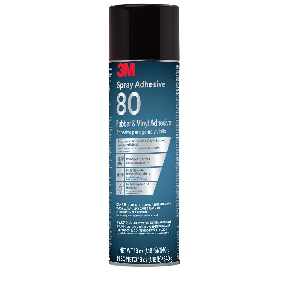 Oz Rubber And Vinyl 80 Spray Adhesive