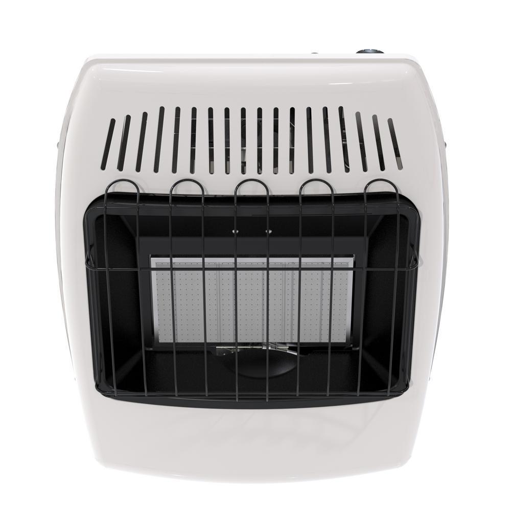 Wall Heater Infrared 18000 Btu Liquid Propane Fuel