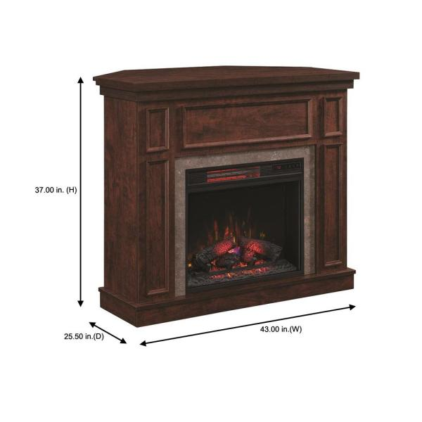 Home Decorators Collection Granville 43, 62 Grand Cherry Electric Fireplace Reviews
