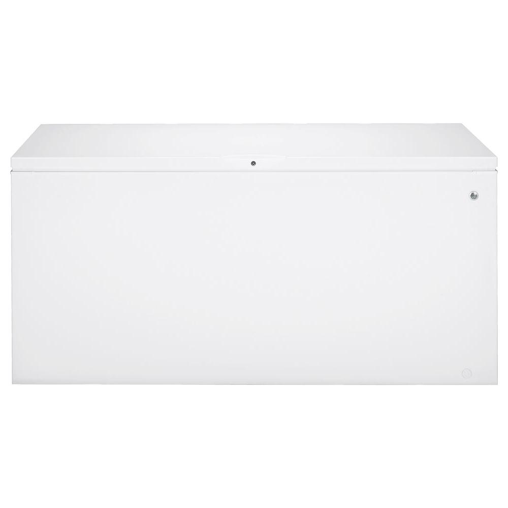 GE 24.9 cu. ft. Chest Freezer in White