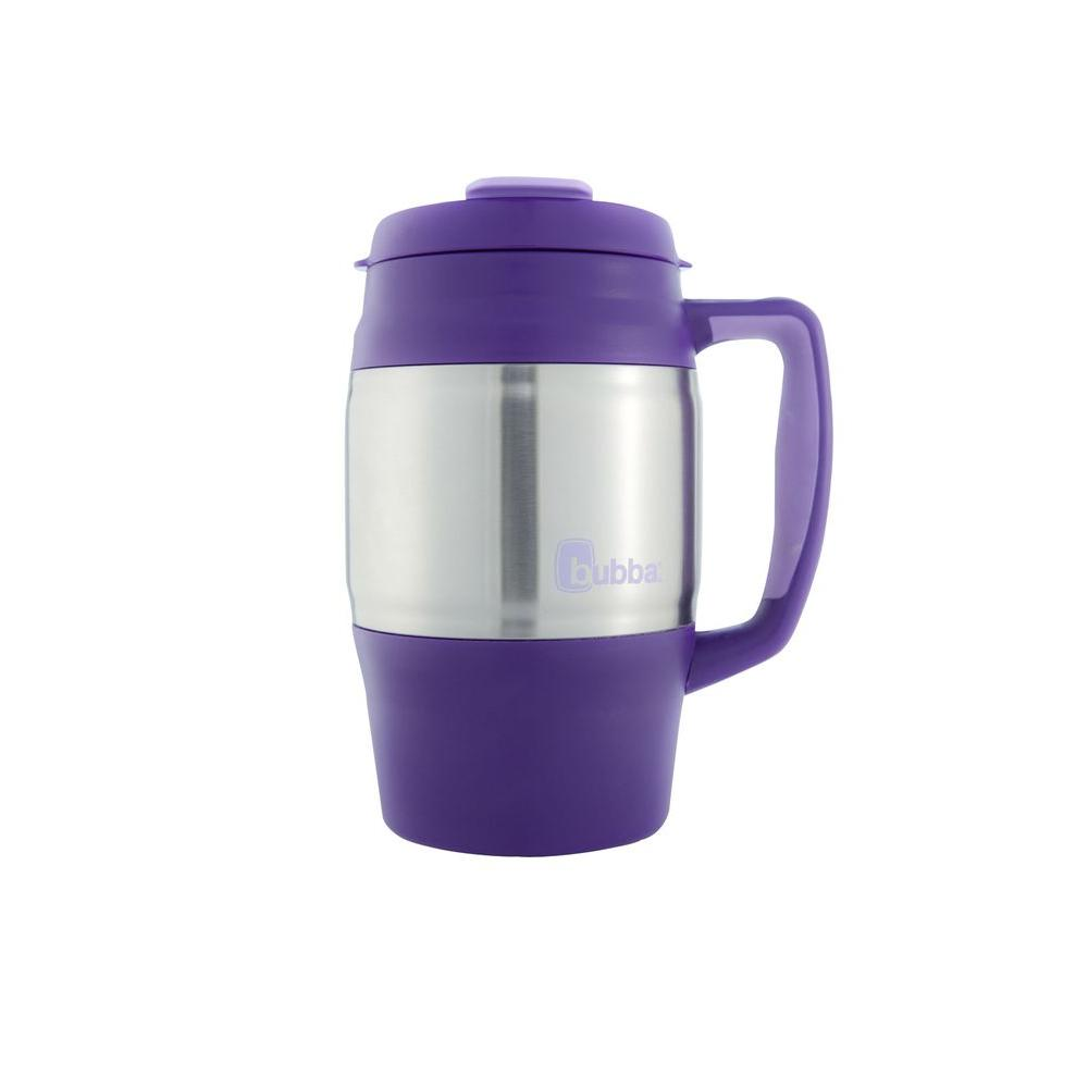 Bubba 34 oz. (1.0 l) Insulated Double Walled BPA-Free Mug with Stainless Steel Band