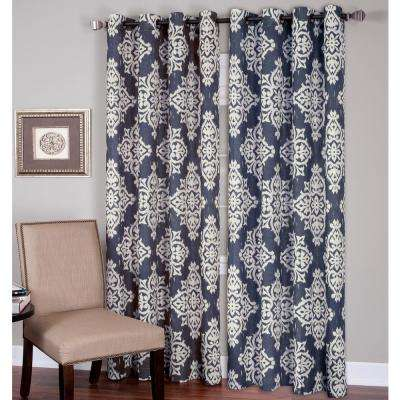 Medina Ikat Room Darkening Window Curtain