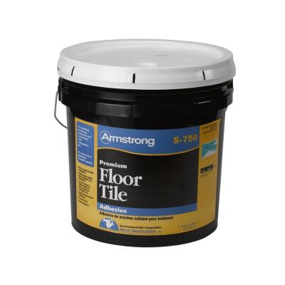 S-750 4 Gal. Resilient Tile Adhesive