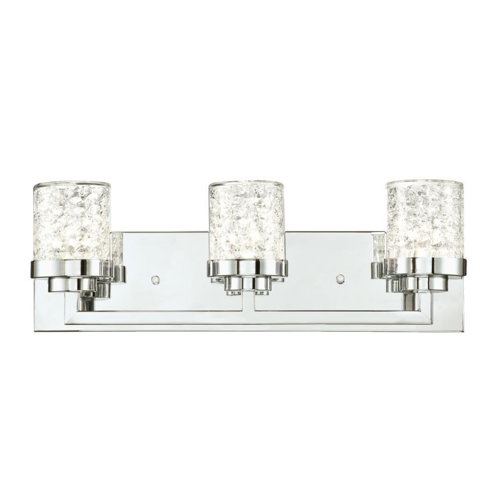 Mount Vanity Light Up Or Down : Westinghouse Joliet 3-Light Chrome Wall Mount Bath Light-6324200 - The Home Depot