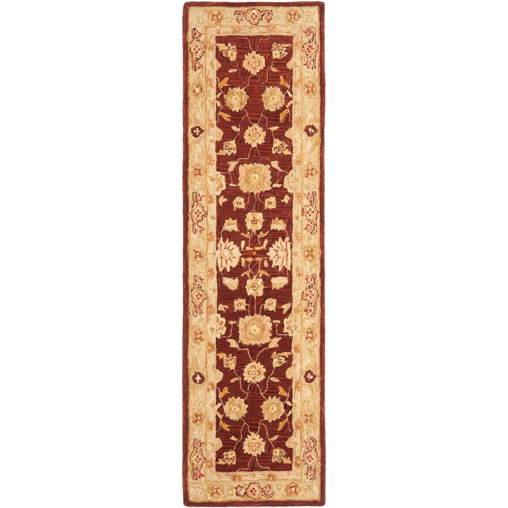 Anatolia Red/Sage 2 ft. 3 in. x 10 ft. Runner