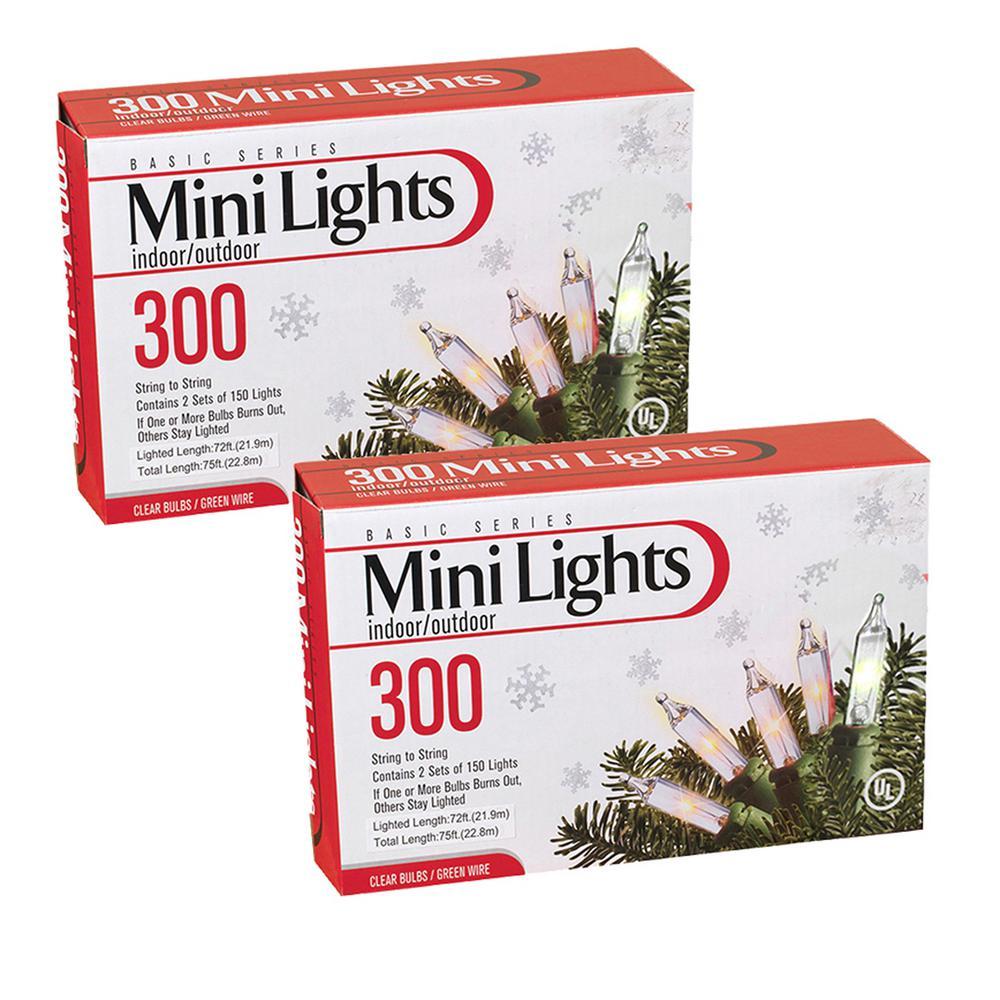 75 ft. L Clear Light Sets (2-Set)