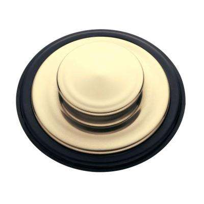 Sink Stopper in French Gold for InSinkErator Garbage Disposals