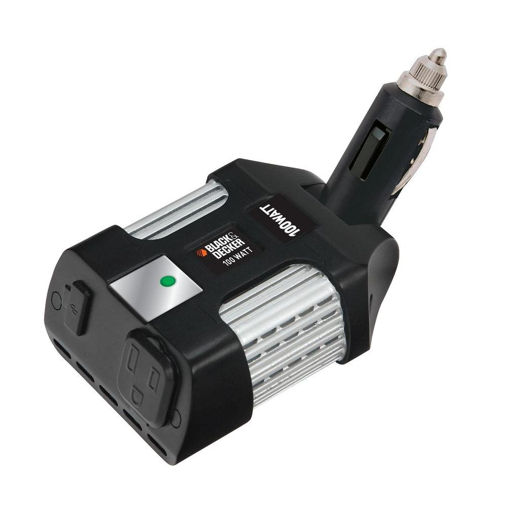 BLACK+DECKER 100-Watt Power Inverter