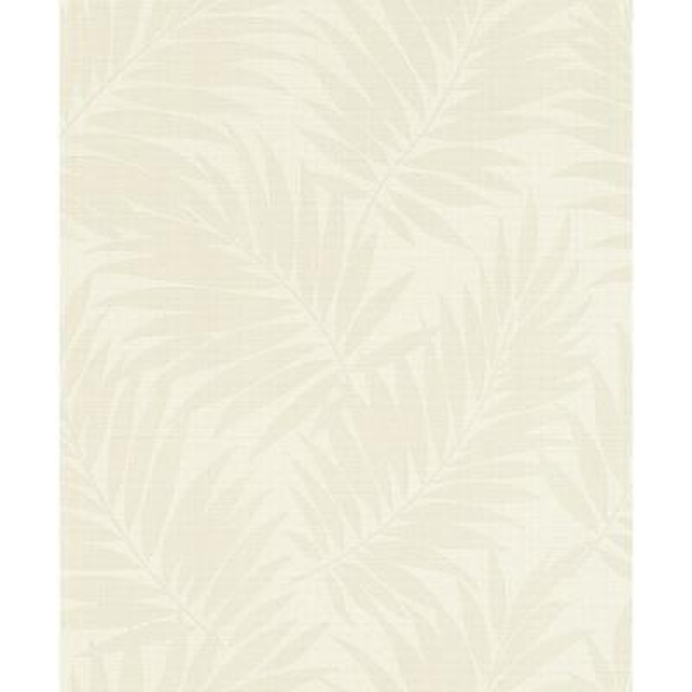 Regan Ivory Palm Fronds Wallpaper