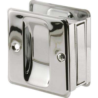 Chrome Plated Pocket Door Passage Pull
