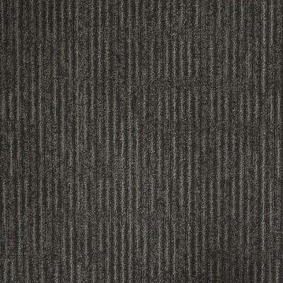 Union Square Slate Loop 19.7 in. x 19.7 in. Carpet Tile (20 Tiles/Case)