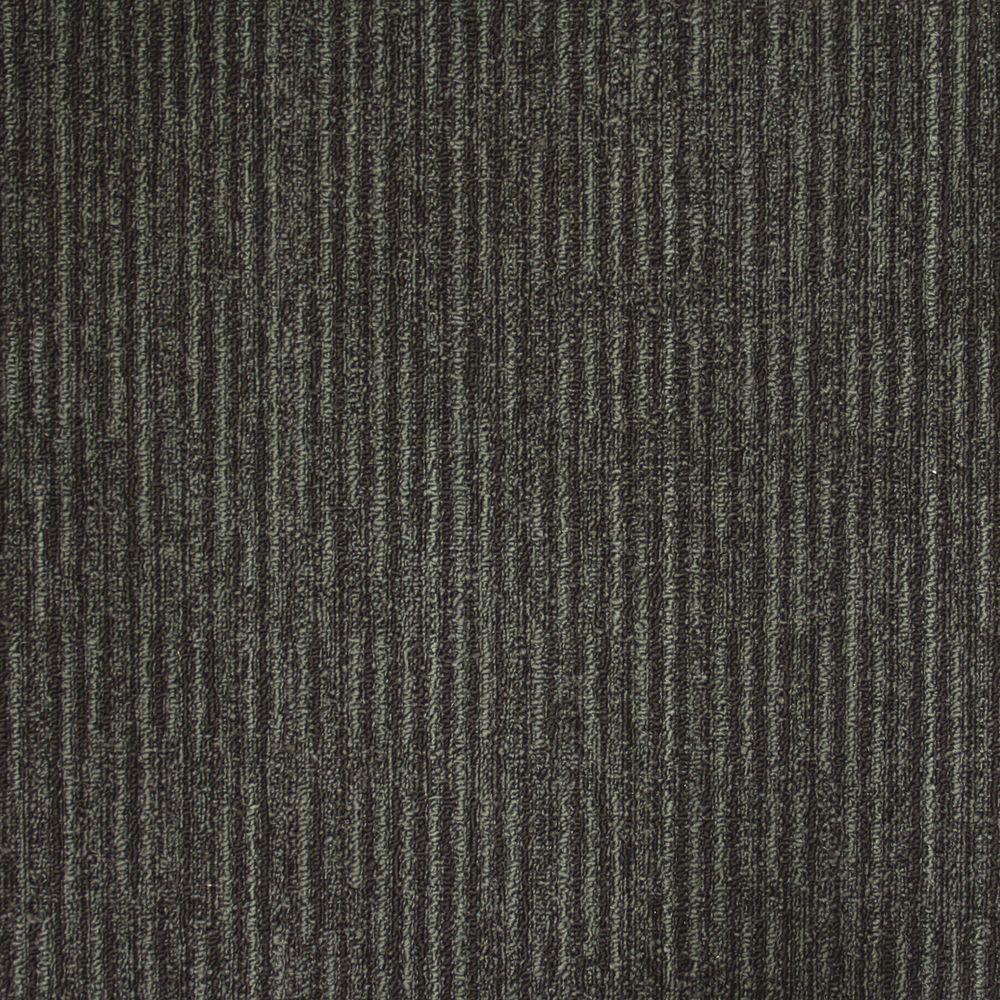 Union Square Slate Loop 19.7 in. x 19.7 in. Carpet Tile (20 Tiles/Case)