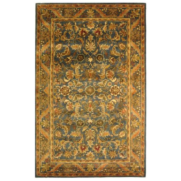 Safavieh Antiquity Blue Gold 5 Ft X 8