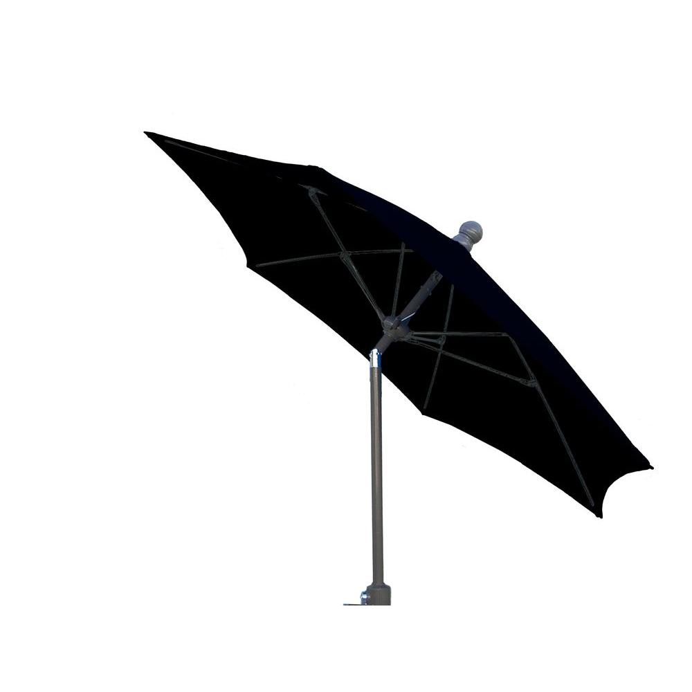 9 ft. Patio Umbrella in Black