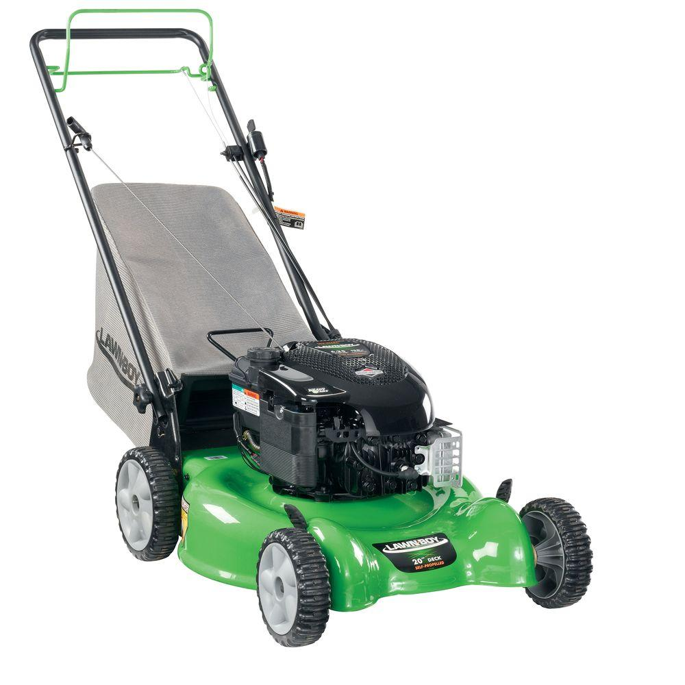 Lawn-Boy 20 in. Briggs & Stratton Electric Start Self-Propelled Gas Walk-Behind Mower