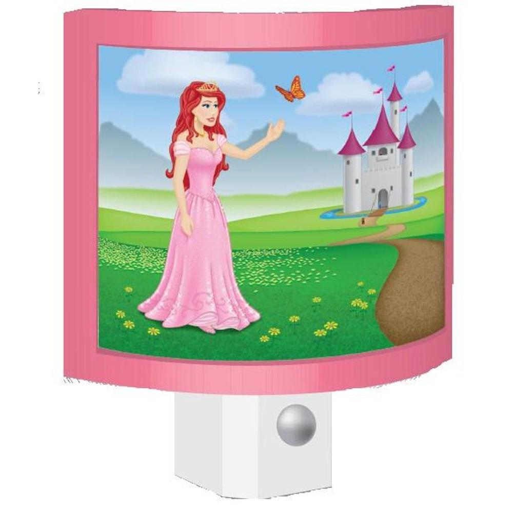 null 0.5-Watt Princess LED Night Light
