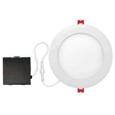 Slimline 6 in. White Integrated LED Recessed Kit
