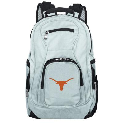 NCAA Texas Longhorns 19 in. Gray Laptop Backpack