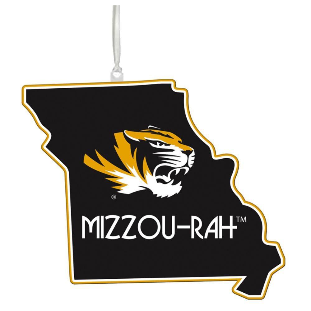University of Missouri 5 in. NCAA Team State Christmas Ornament