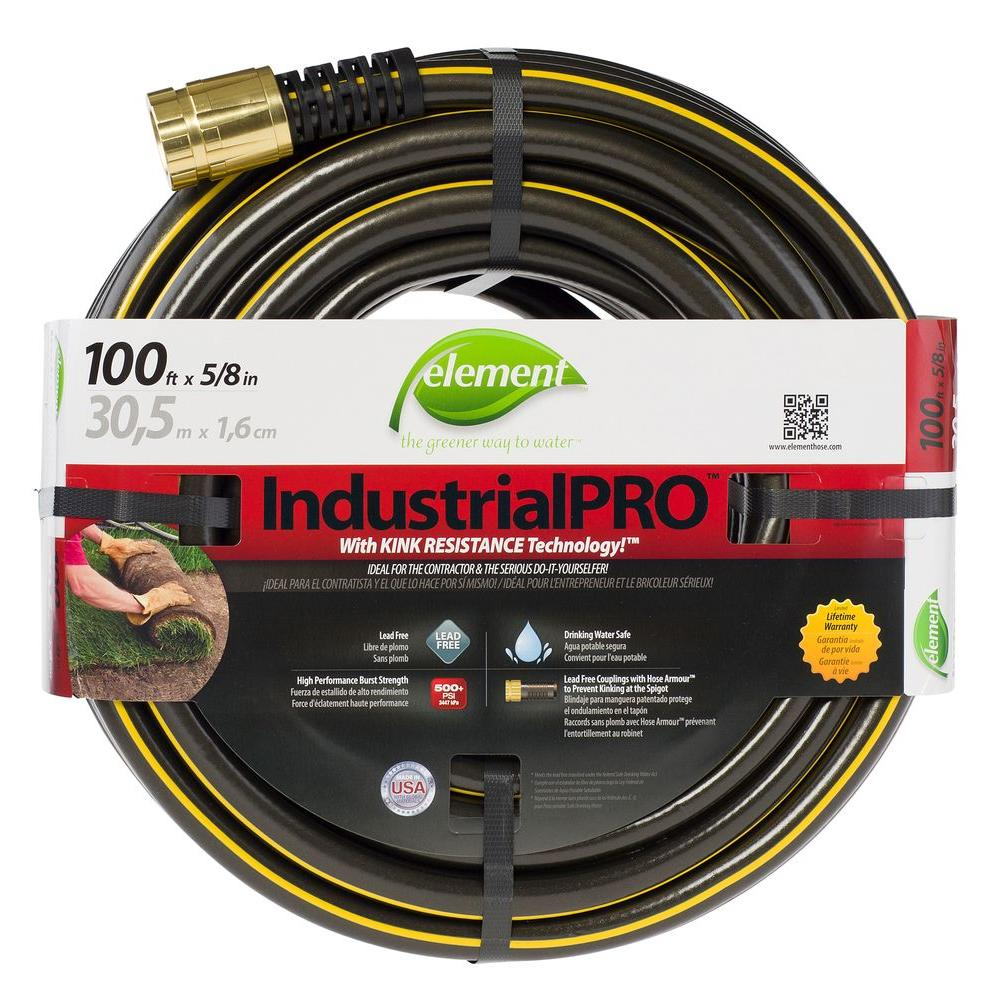 Beautiful ZillaGreen Garden Hose With 3/4 In. GHT Ends HFZG5100YW   The Home Depot