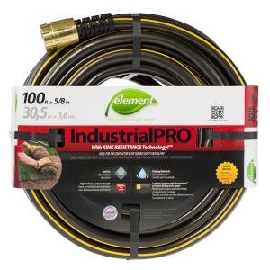 Element IndustrialPRO 5/8 inch Dia x 100 ft. Lead Free Garden Hose by Element