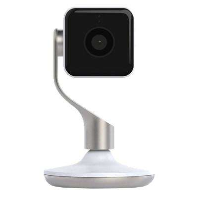 Hive View Wireless Indoor Smart Home Security Camera, Wifi Enabled, White/Champagne Gold