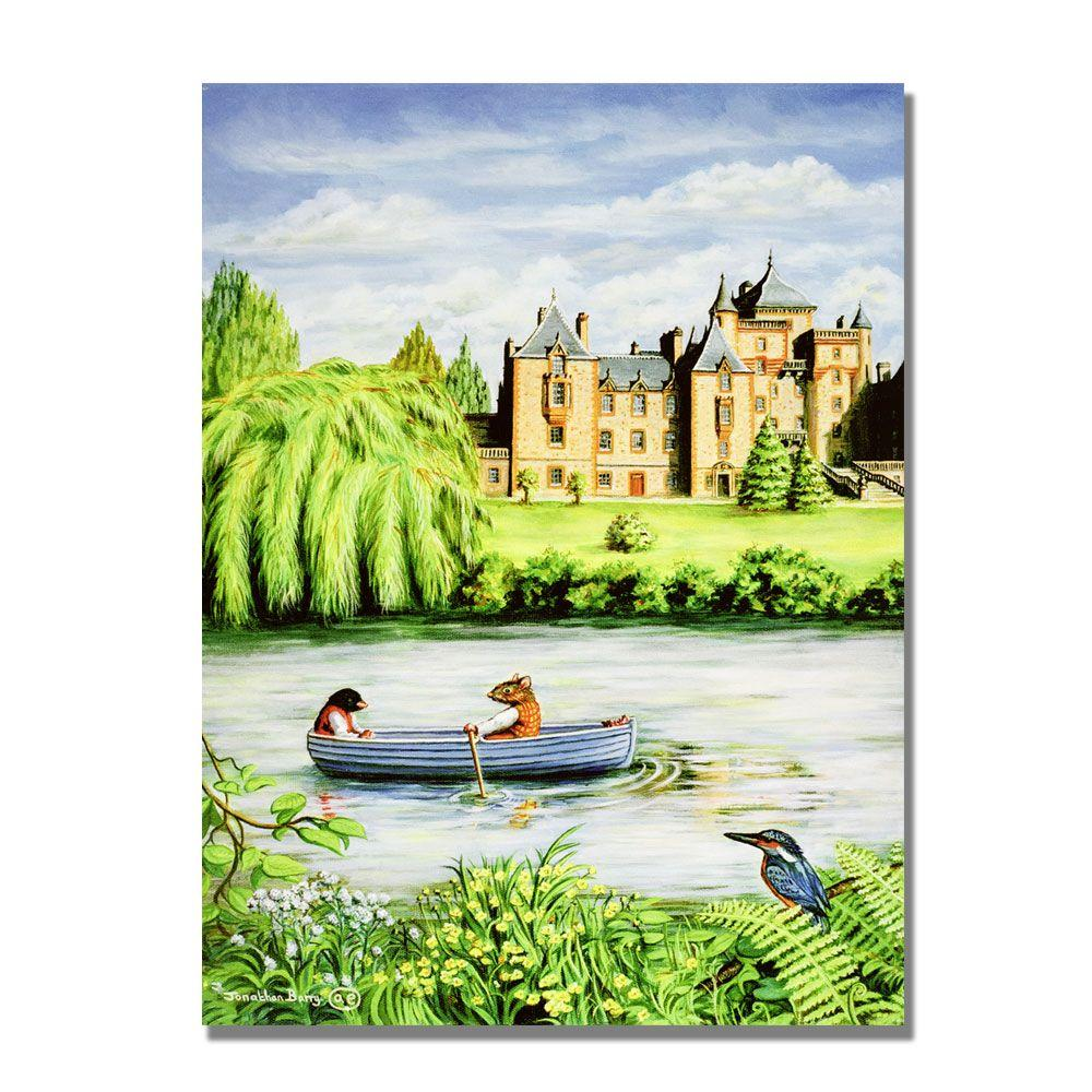 Trademark Fine Art 24 in. x 32 in. Toads Delightful Residence,1999 Canvas Art-DISCONTINUED