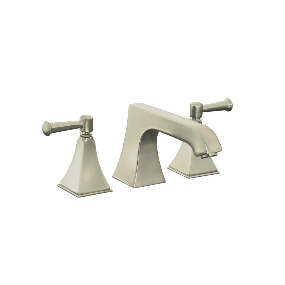 KOHLER Memoirs Deck-Mount 2-Handle Bathroom Faucet in Vibrant ...