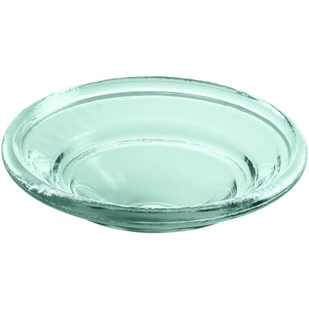 KOHLER Spun Glass Vessel Sink In Translucent Dew