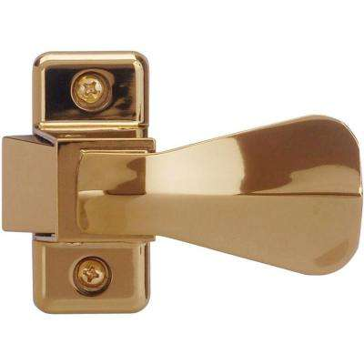 Inside Latch with Strike, E-Coat Brass
