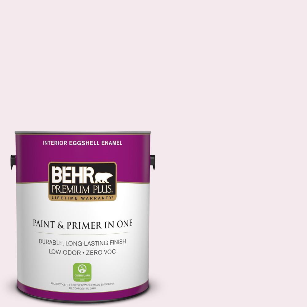 BEHR Premium Plus 1-gal. #PR-W5 Sweet Roses Eggshell Enamel Interior Paint