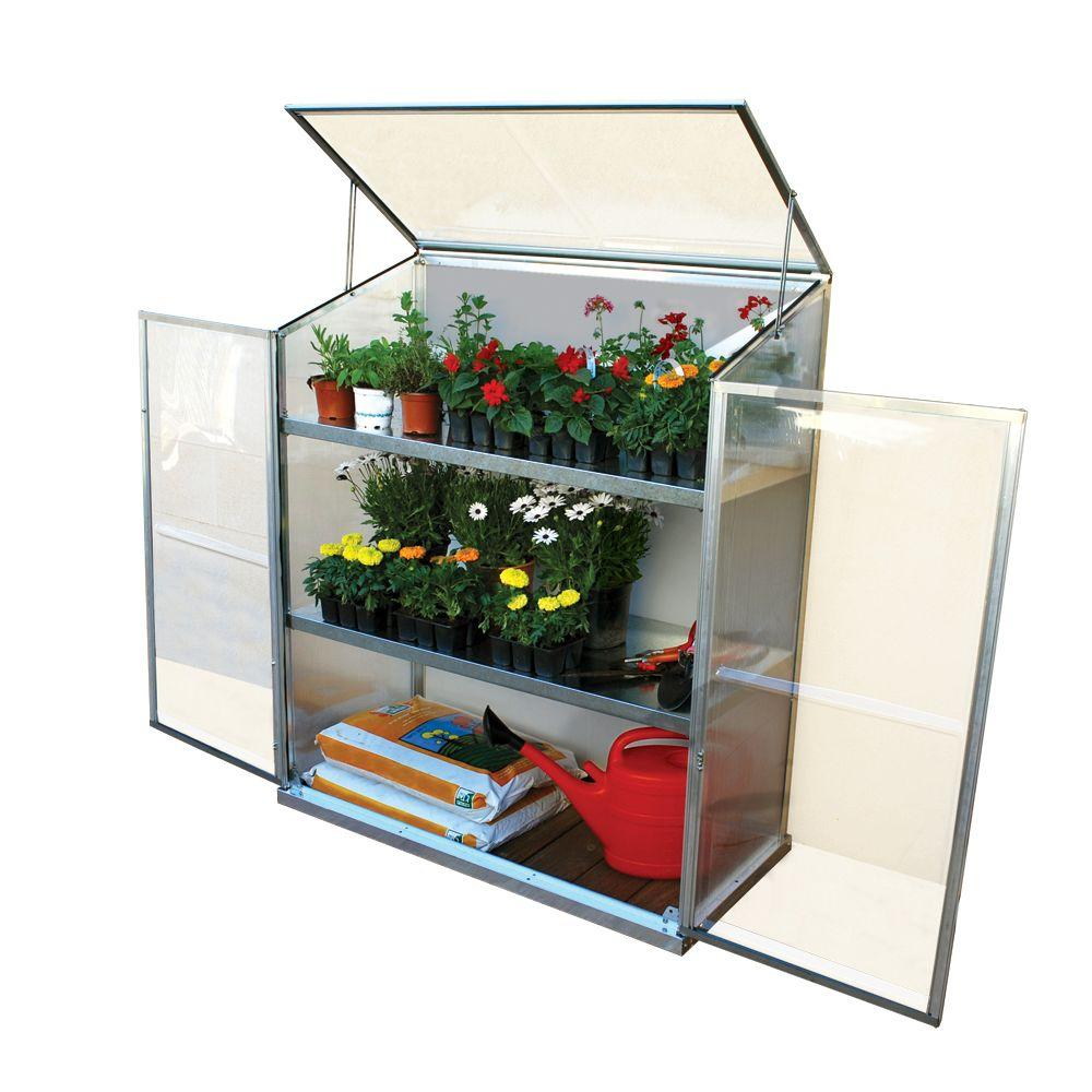 Palram Grow Station 2 ft. x 4 ft. Plant and Seed Greenhouse