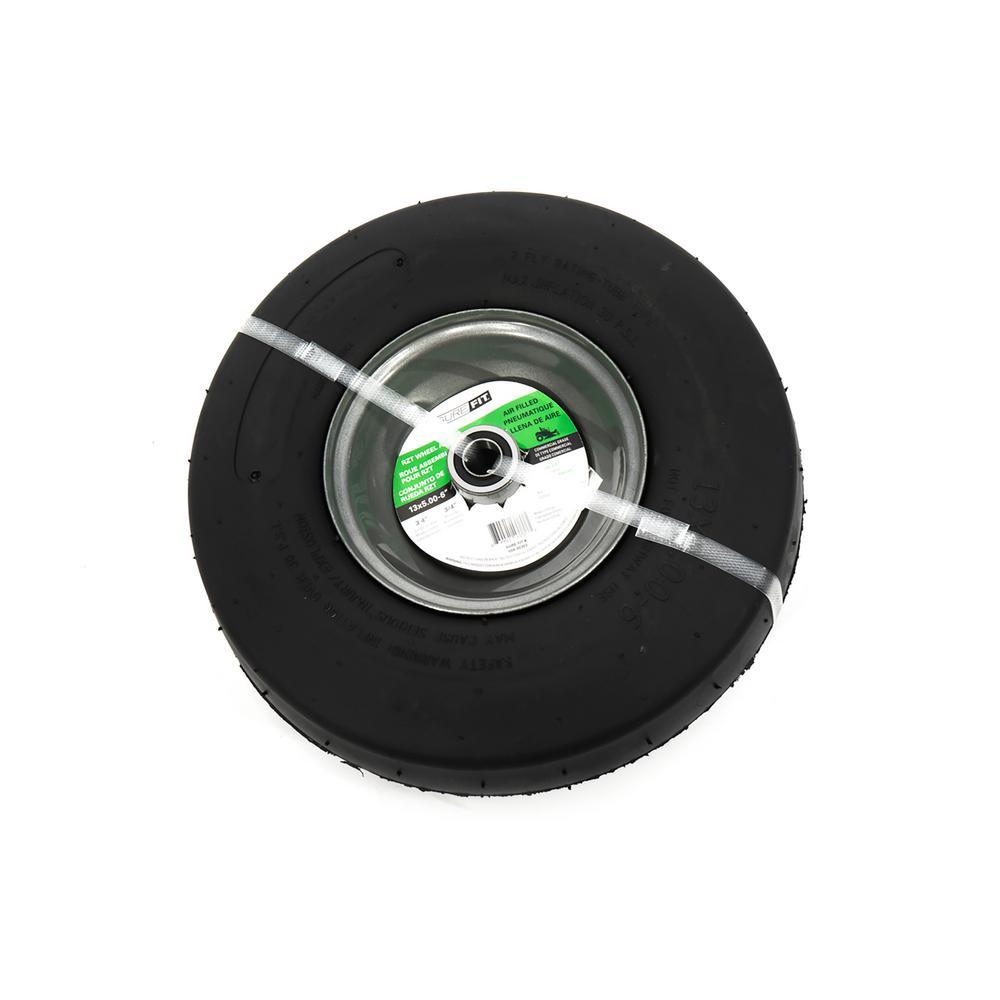 13 in. x 5.00 in. x 6 in. Pneumatic Assy RZT Wheel