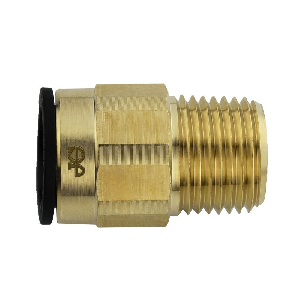Jg prolock in cts npt brass push to