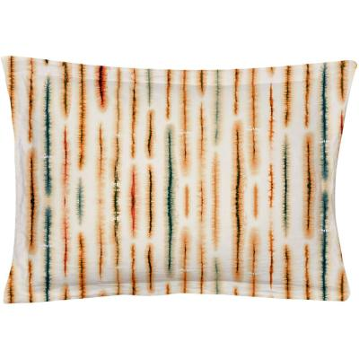 Palm Multicolored Queen Pillow Cover (Set of 2)