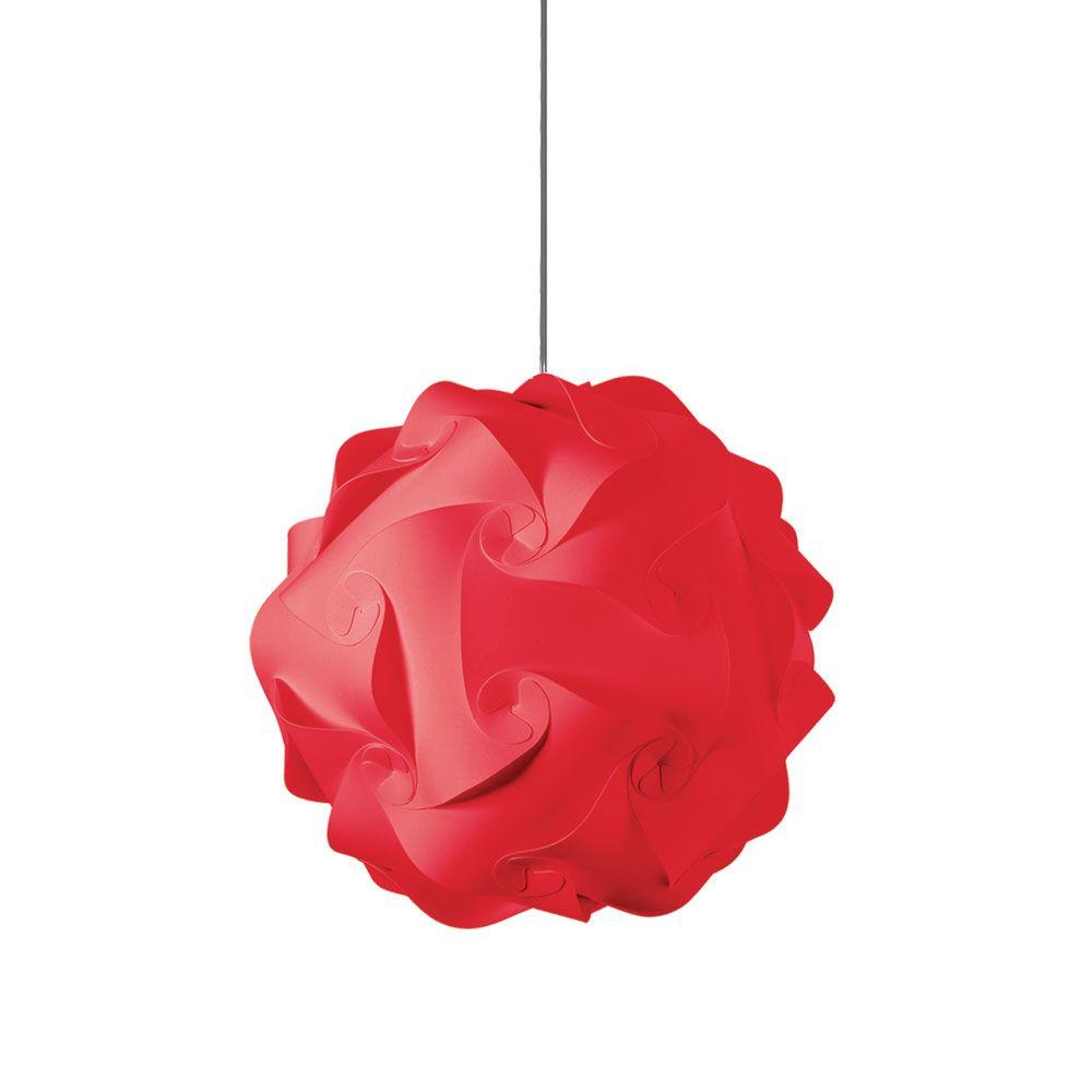 Filament Design Catherine 1-Light Red Pendant