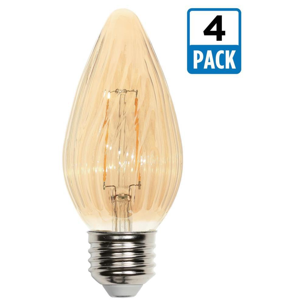 Westinghouse 40w Equivalent Amber St20 Dimmable Filament: Westinghouse 25W Equivalent Amber F15 Dimmable Filament