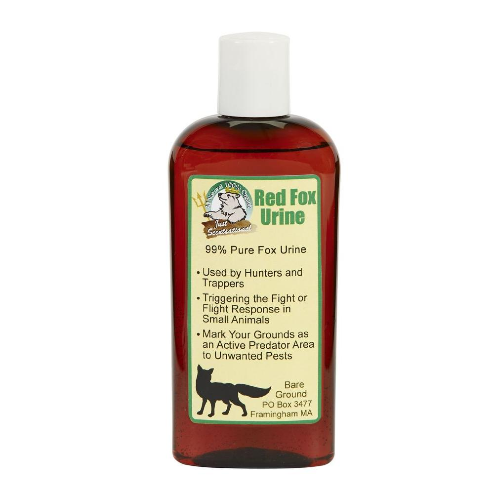 Just Scentsational 4 Oz Red Fox Urine Repellent Animal Deterrent Fu 4 The Home Depot