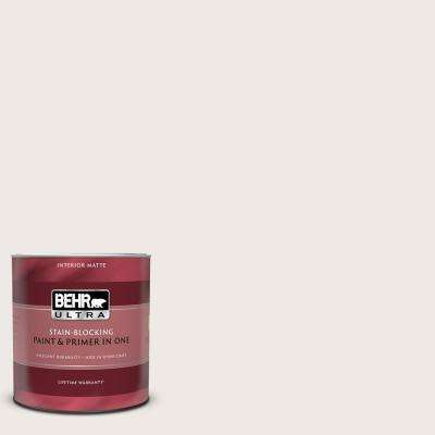 1 qt. #BWC-06 Solid Opal Matte Interior Paint and Primer in One