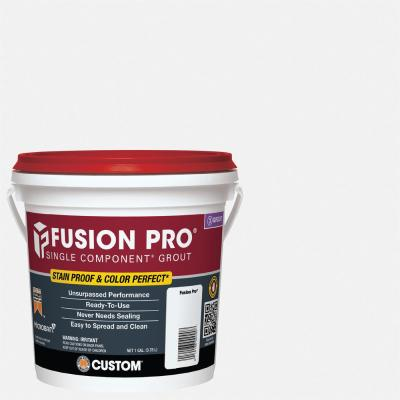 Fusion Pro #640 Arctic White 1 gal. Single Component Grout