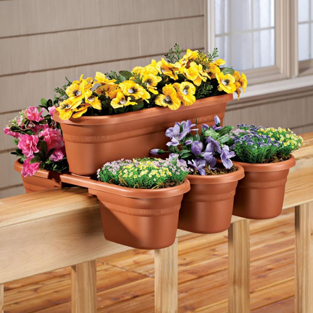 Railing Planters Home Depot on post planters home depot, patio planters home depot, brick planters home depot, plant pots home depot, vertical garden home depot, window planters home depot, trellis planters home depot,