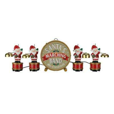 6 in. Santa's Marching Band