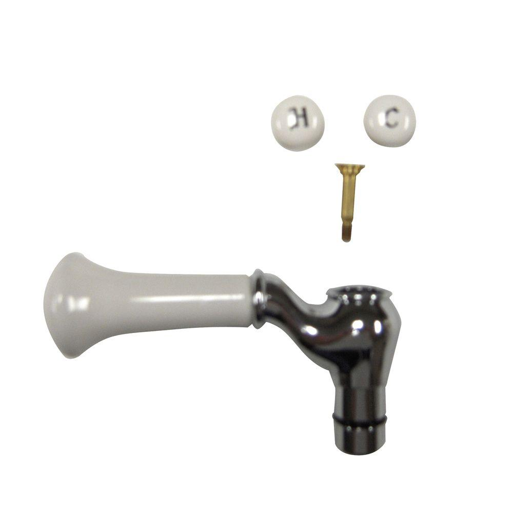 Moen Replacement Lever Handle Insert In Chrome 97462 The