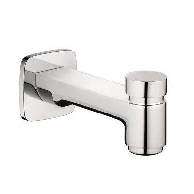 Logis Tub Spout with Diverter in Chrome