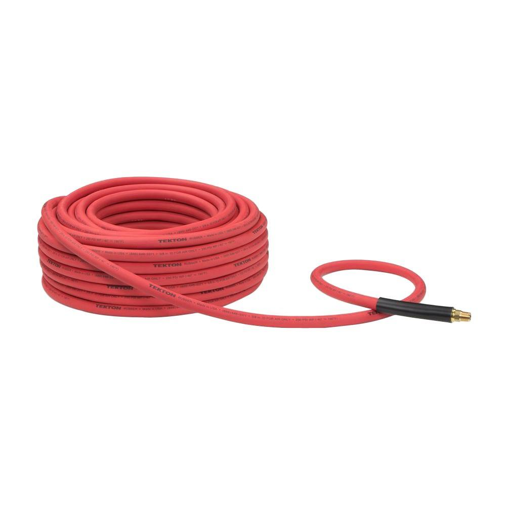 100 ft. x 3/8 in. I.D. Rubber Air Hose (250 PSI)