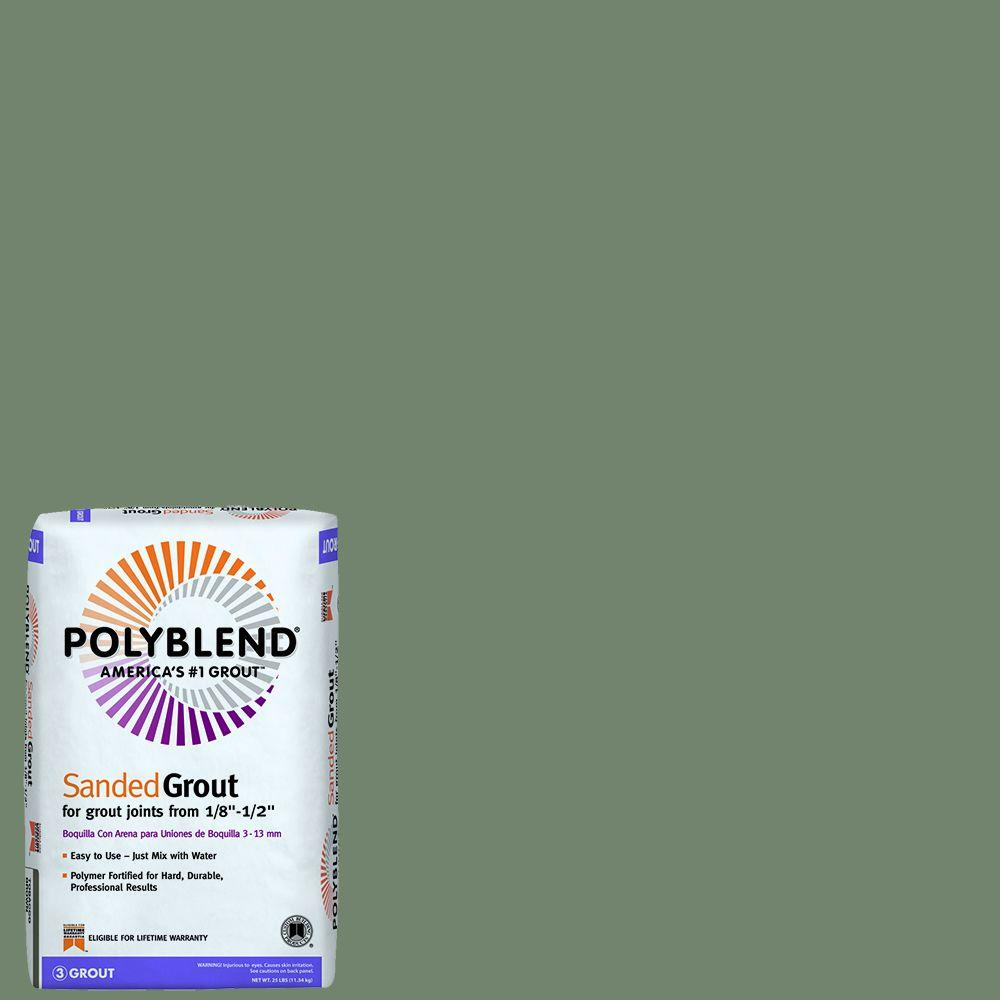 Custom Building Products Polyblend #09 Natural Gray 25 lb. Sanded Grout