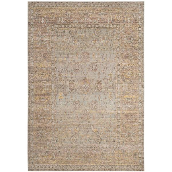 Valencia Gray/Multi 6 ft. x 9 ft. Area Rug
