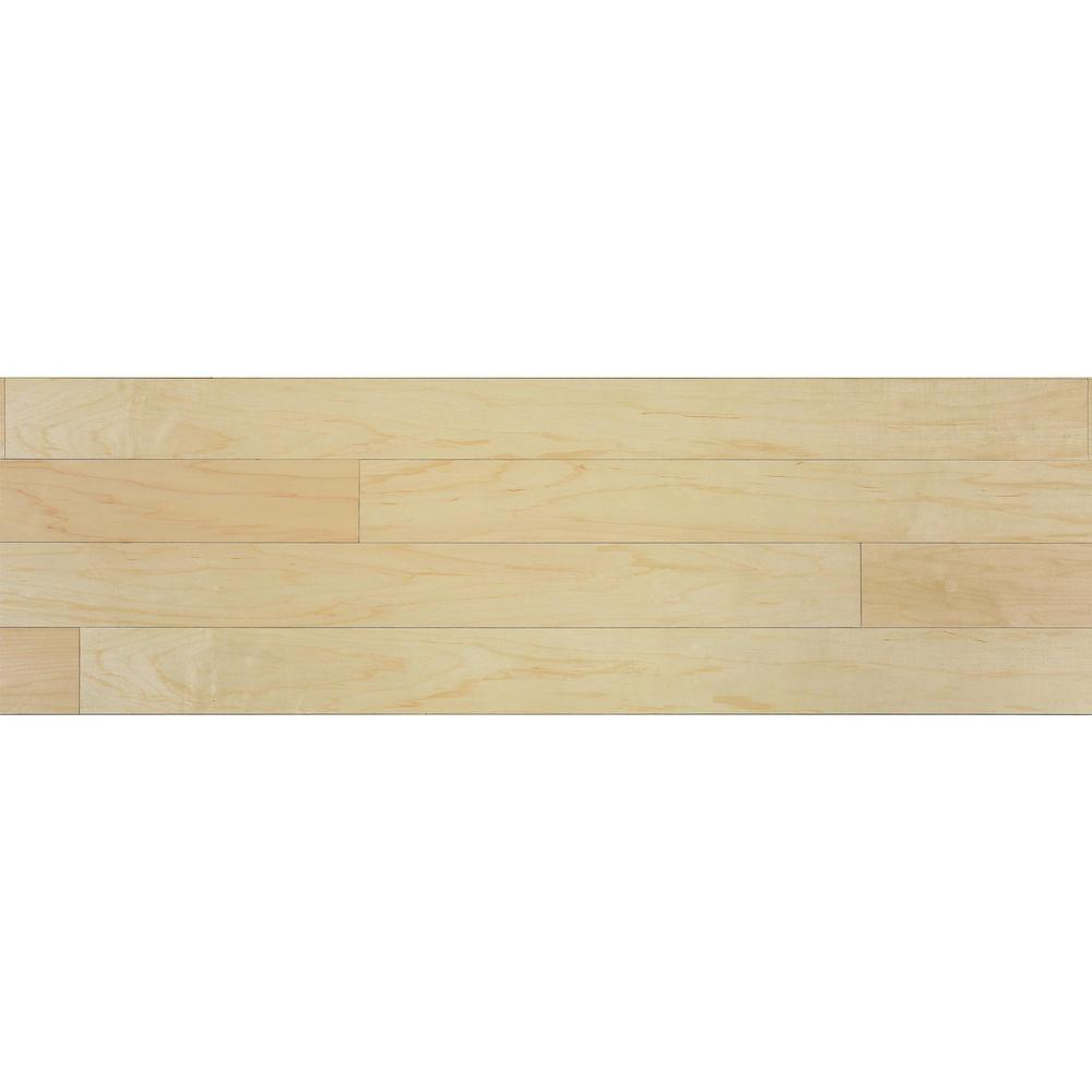 1/4 in. x 5.1 in. x 6.5 in. Natural Wood Wall