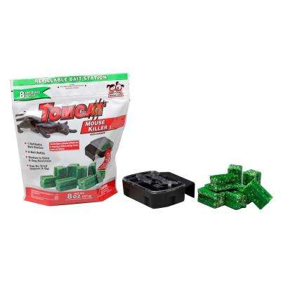 Mouse Killer Refillable Bait Station (8-Pack)