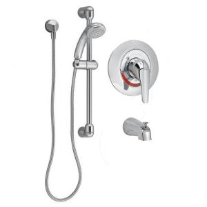 American Standard Commercial Water-Saving 36 inch Shower System with Diverter Tub Spout in Polished Chrome by American Standard
